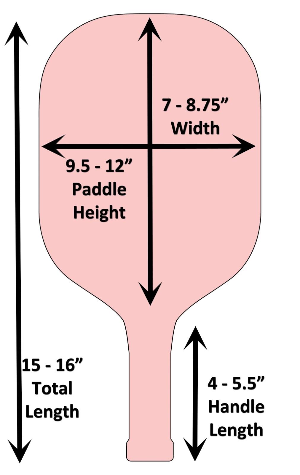 Length & Width pickleball
