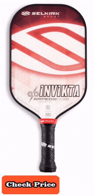 Selkirk Invikta pickle ball paddle