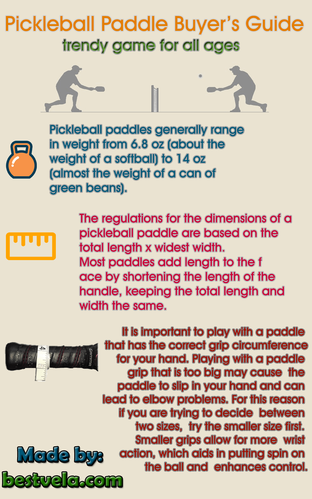 infographic best pickleball paddle