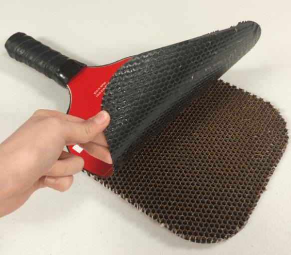 pickleball paddles honeycomb core