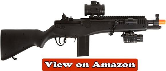 BBTac M305P Airsoft Gun M14 Spring Airsoft Sniper Rifle