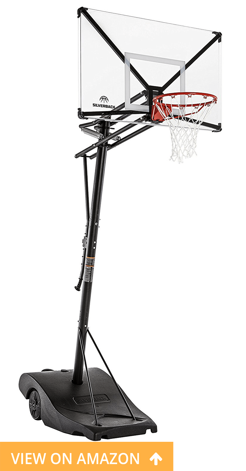 Silverback NXT Best adjustable basketball hoop