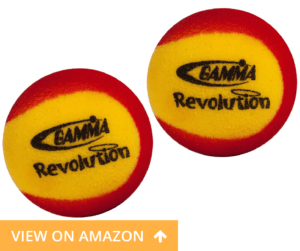 Foam Quiet pickleball balls Gamma