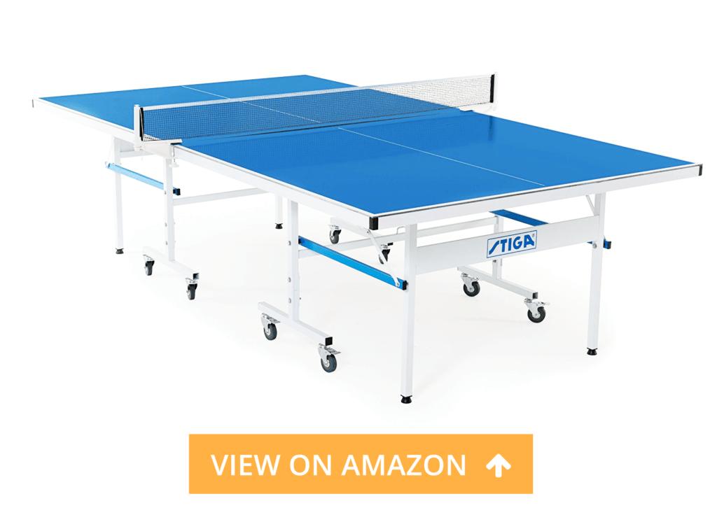 STIGA XTR Outdoor table tennis table review
