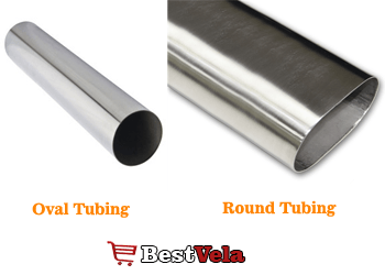 oval vs round tubing- pickleball Net