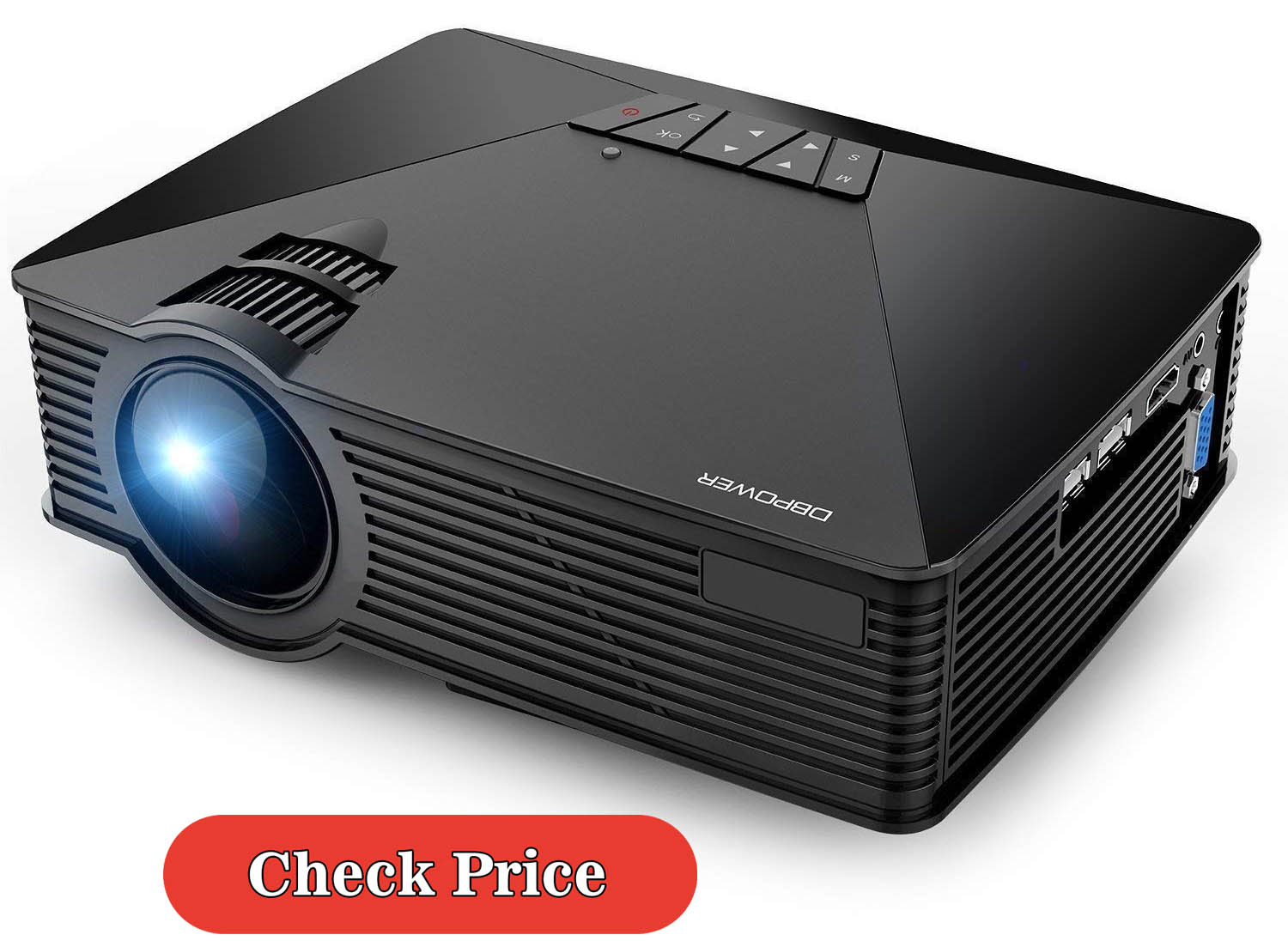DBPOWER GP15 best projector