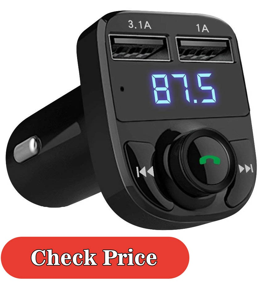 LIHAN fm bluetooth transmitter review