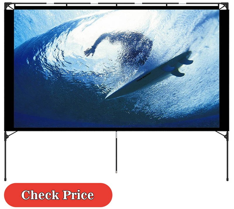 Vamvo outdoor projector screen