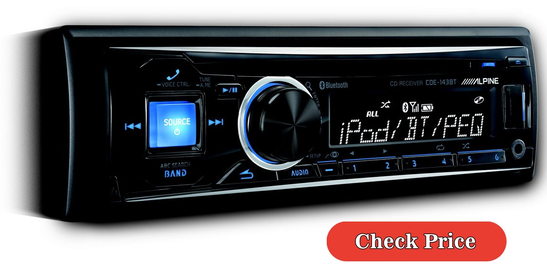 Alpine CDE-143BT car stereo