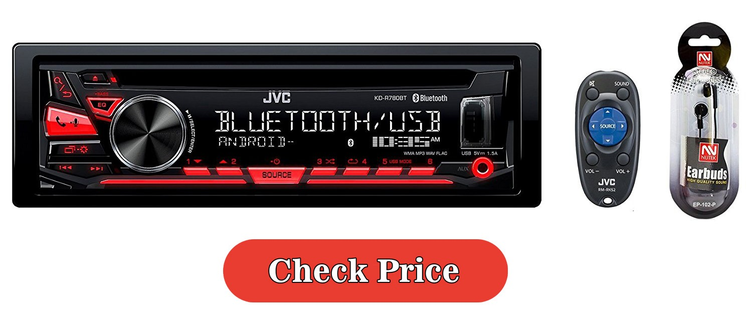 JVC Stereo with FREE NUTEK EARBUDS