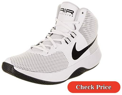 NIKE Mens Air Precision Basketball Shoe