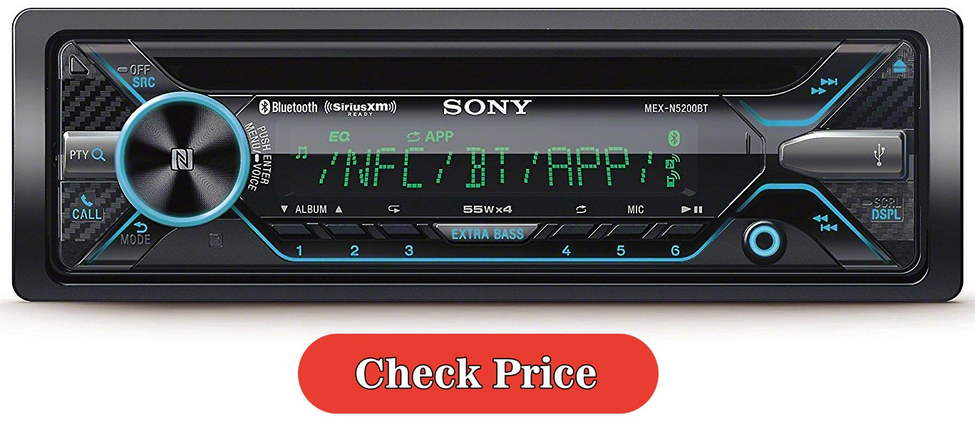 Sony MEX-N5200BT car stereo bluetooth
