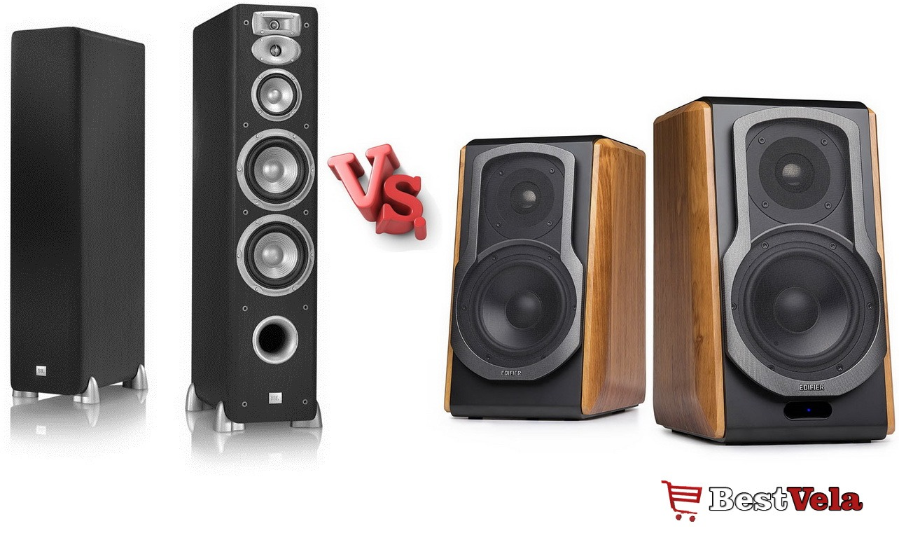 Floor-Standing-vs-Bookshelf-Speakers