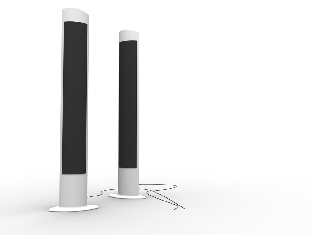design of floor standing speakers