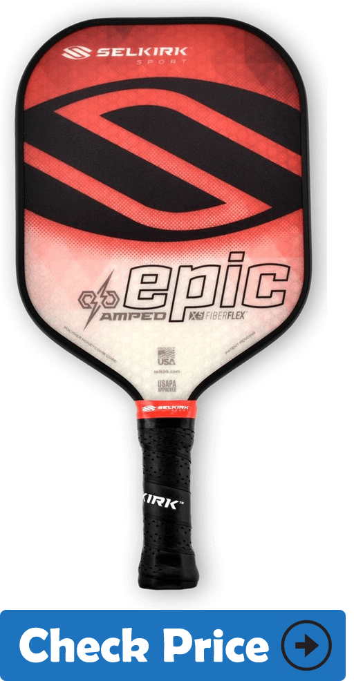 best pickleball paddle for control