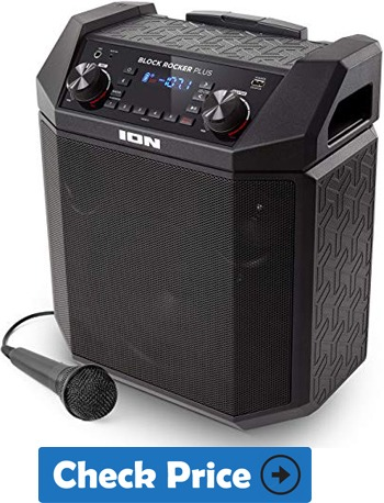 Ion Audio Block Rocker Best Bluetooth Speakers For Outdoor Party