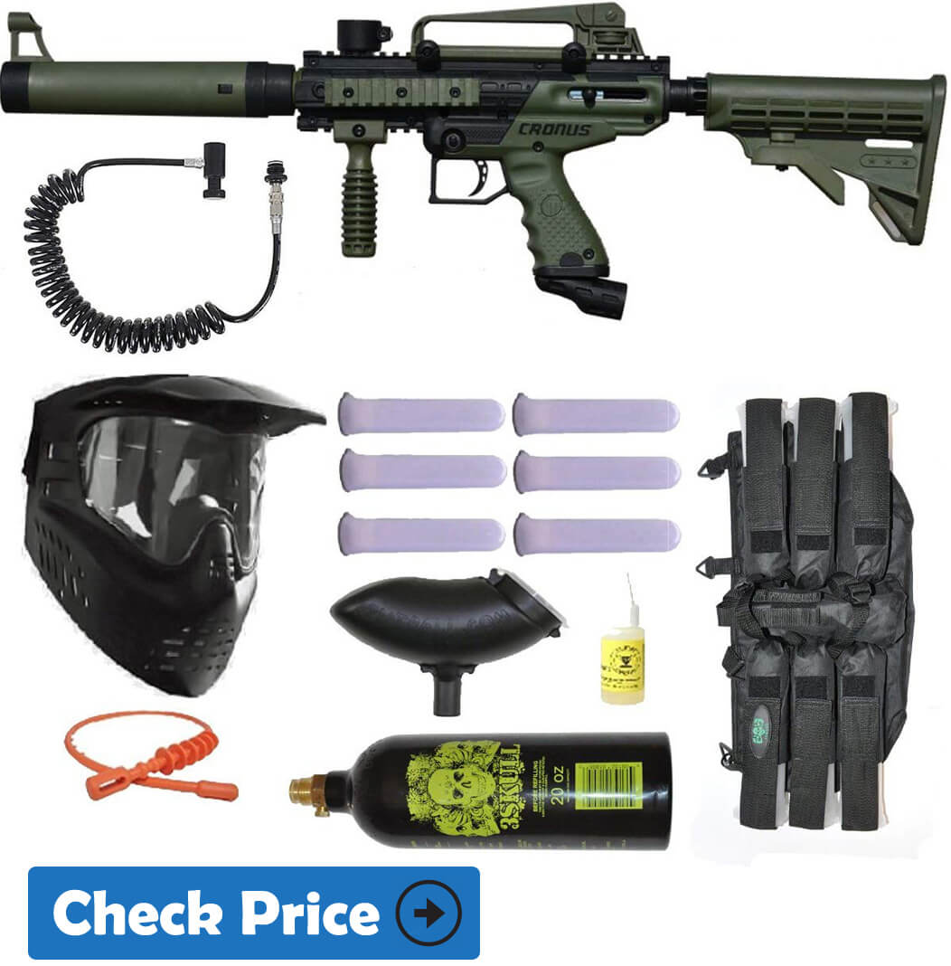 Tippmann Cronus Olive Paintball tactical gun Power pack