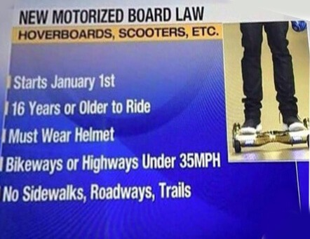 hoverboard legal law